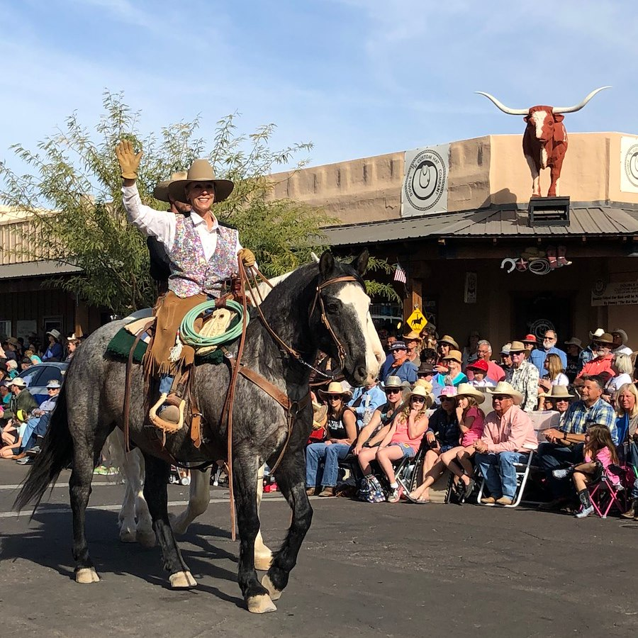 Rancho de los Caballeros in the Gold Rush Days Parade